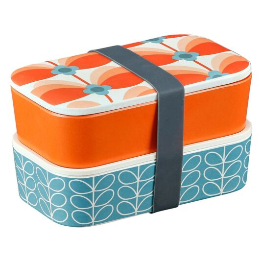 Butterfly Stem 2 Tier Lunch Box