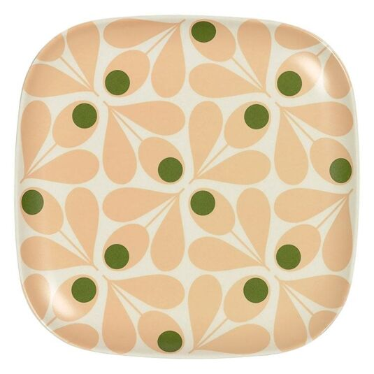 Acorn Spot Pink Side-Plate
