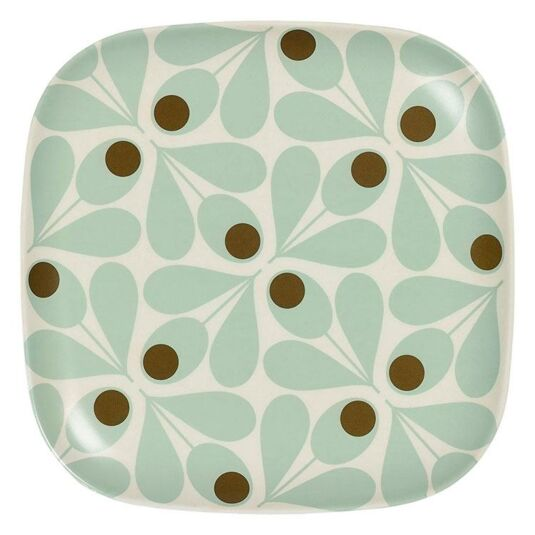 Acorn Spot Duckegg Blue Side-Plate