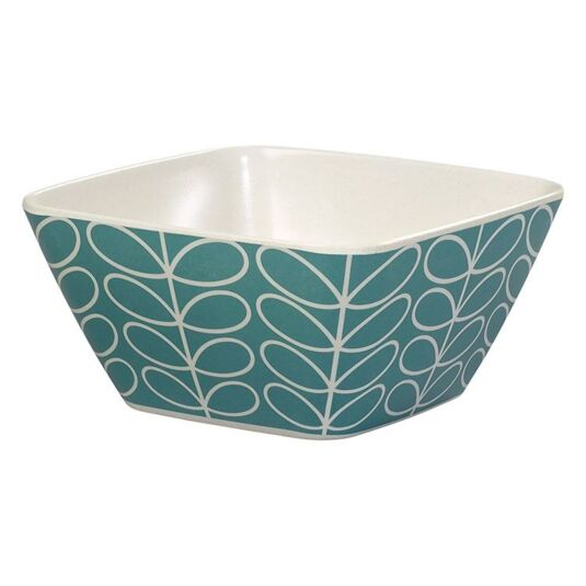 Linear Stem Blue Bowl