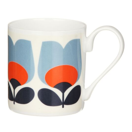 Poppy Orange Tulip Small Mug