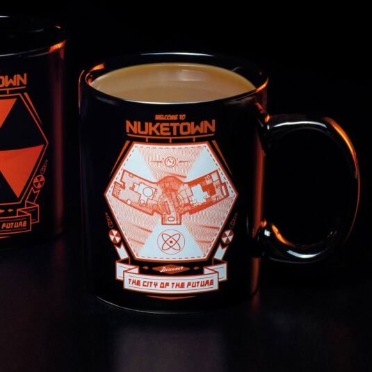 Nuketown Heat Changing Mug