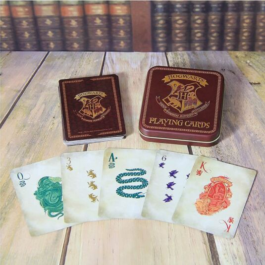 Harry Potter Baby Gifts Uk : Harry potter playing cards in a tin temptation gifts