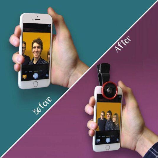 Selfie Smartphone Camera Clip