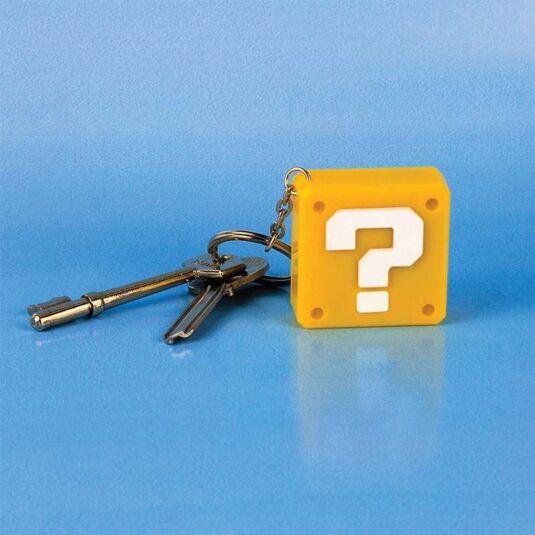 Super Mario Question Block Keyring