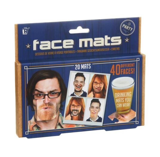 Gents Club Face Mats