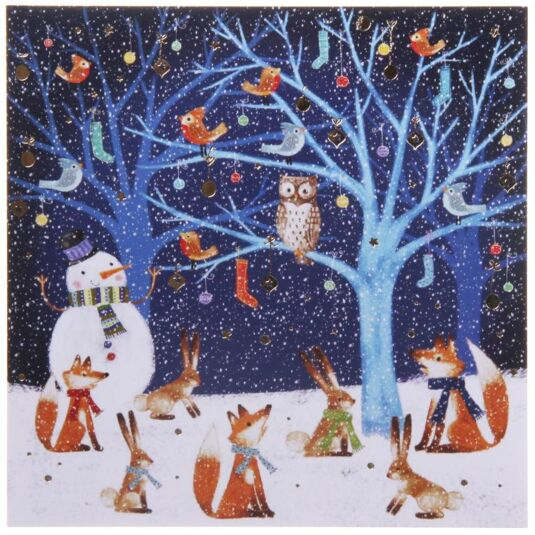 Animal Talk Pack of 6 Christmas Cards Charity Pack