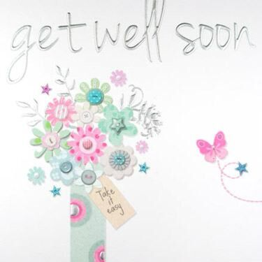 Made With Love Get Well Soon Card