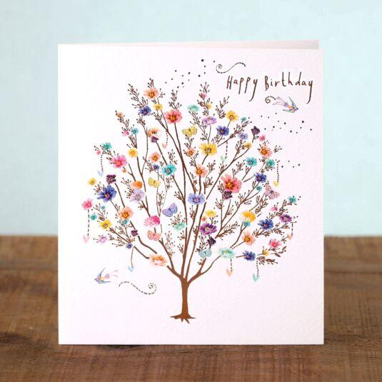 Lemon Sorbet Tree Birthday Card