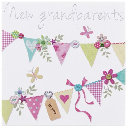 Paperlink made with love new grandparents card temptation gifts bookmarktalkfo Images