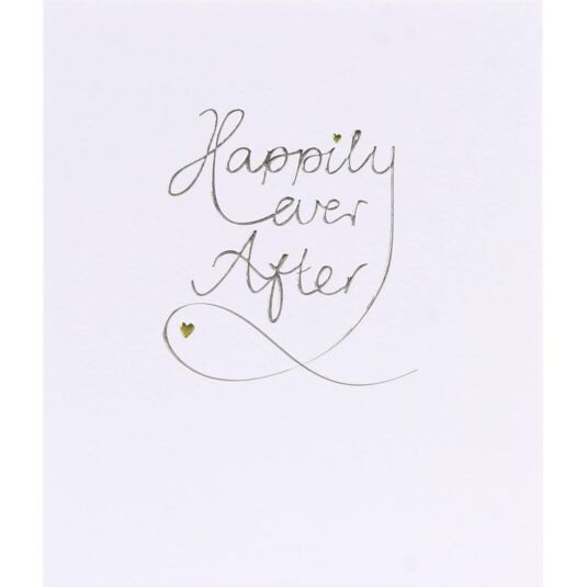 Mimosa Happily Ever After Card
