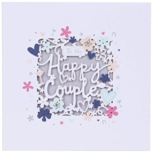 Lacie Happy Couple Wedding Card