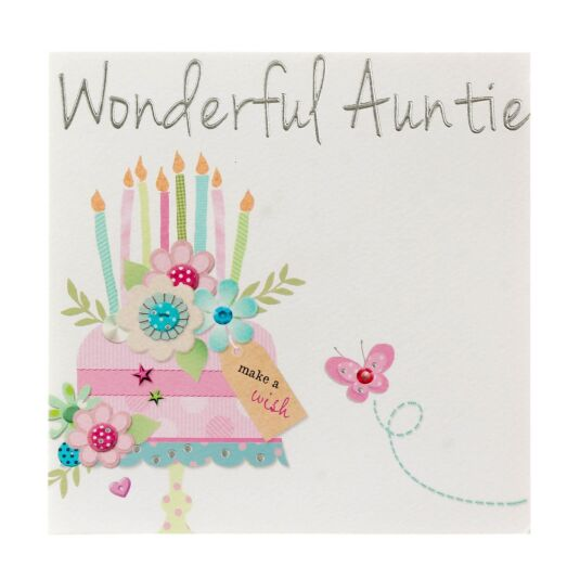 Made With Love 'Wonderful Auntie' Card