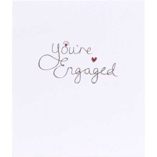 Mimosa You're Engaged Card