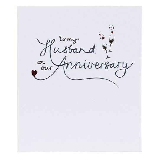 Husband Anniversary Card