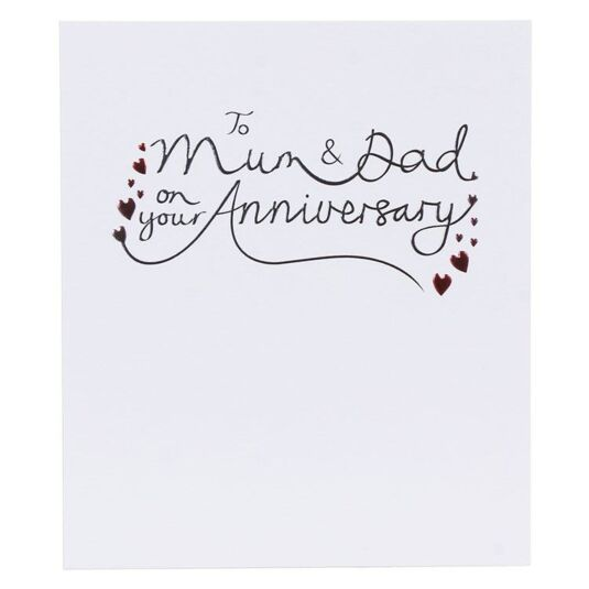 Mum & Dad Anniversary Card