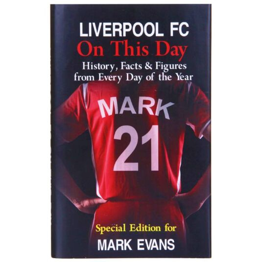 Personalised Liverpool FC On This Day Book – Liverpool Fc Birthday Card