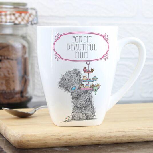 Personalised Me To You Cupcake Latte Mug