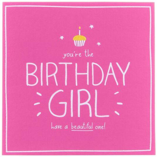 Happy Jackson Birthday Girl Card
