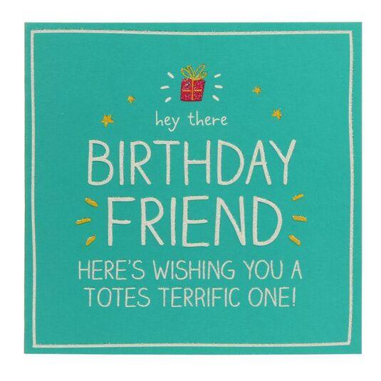 Happy Jackson Hey There Birthday Friend Card – Birthday Friend Card