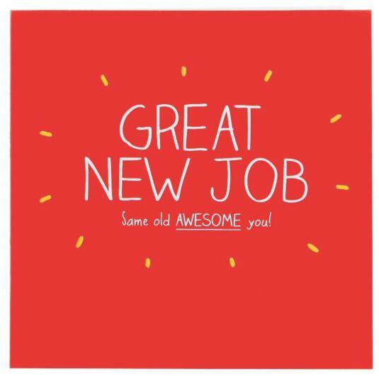 Happy jackson great new job card temptation gifts m4hsunfo Choice Image