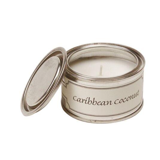 Caribbean Coconut Tin Candle