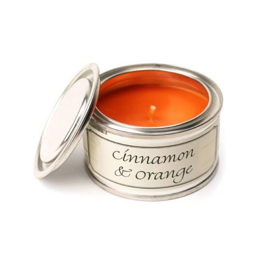 Cinnamon & Orange Tin Candle