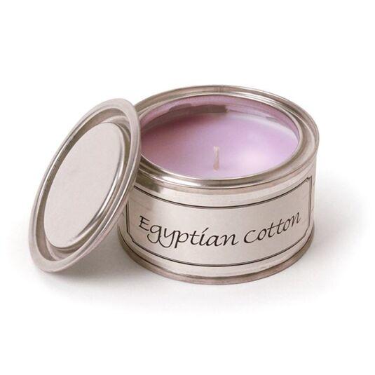 Egyptian Cotton Tin Candle