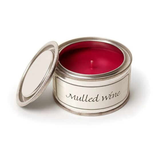 Mulled Wine Tin Candle