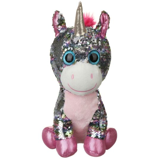 Sequin Glitzies Large Multicoloured Unicorn