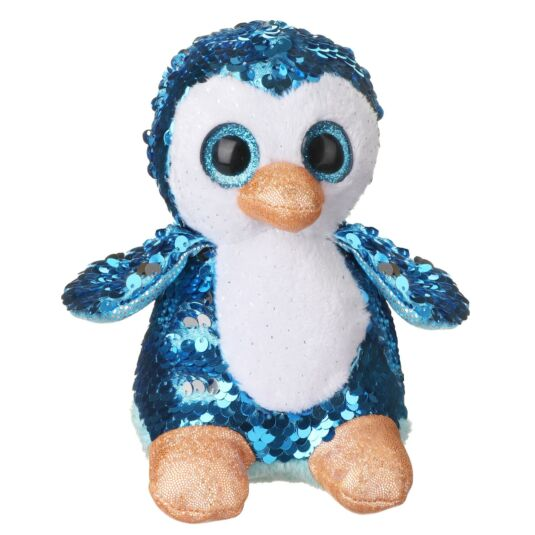 Sequin Glitzies Small Blue and Silver Penguin