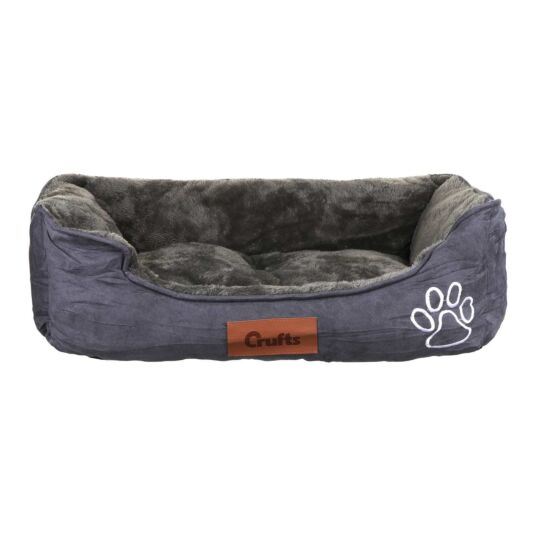 Charcoal Cosy Dog Bed - Medium
