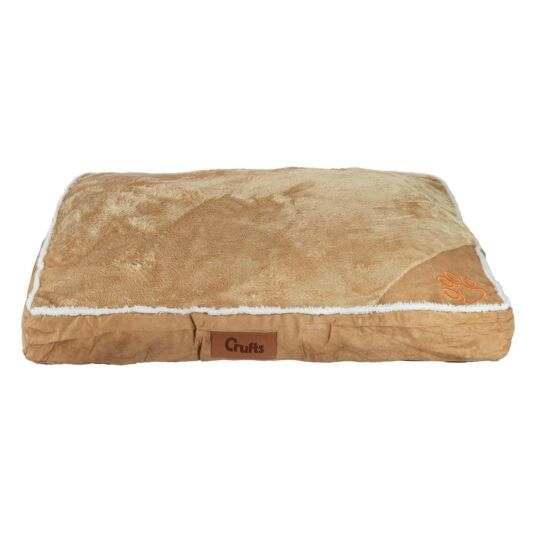 Light Brown Mattress Dog Bed - Medium