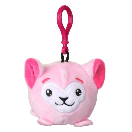 Squishimi Scented Pink Llama Key Clip