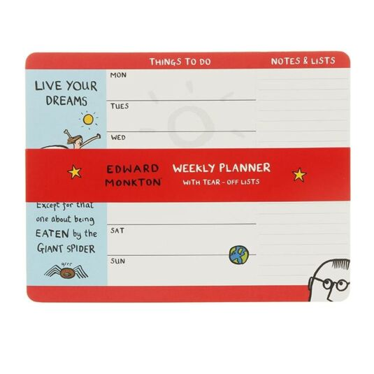 Live Your Dreams Weekly Tear-Off Planner Pad