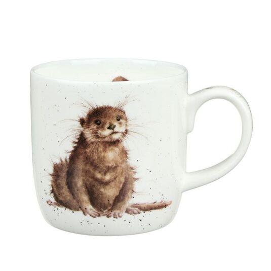 River Gent Otter Mug from Royal Worcester