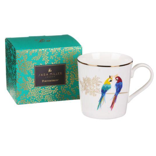 Posing Parrots Piccadilly Mug