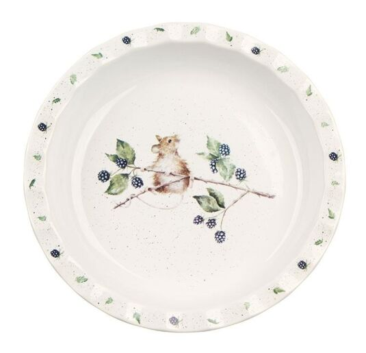 Wrendale 10.7 Inch Mouse Pie Dish from Royal Worcester | Temptation Gifts  sc 1 st  Temptation Gifts : temptations pie plate - pezcame.com