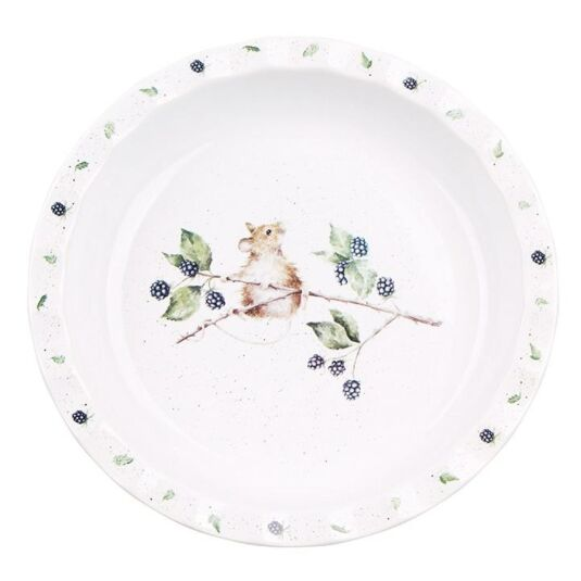 10.7 Inch Mouse Pie Dish from Royal Worcester