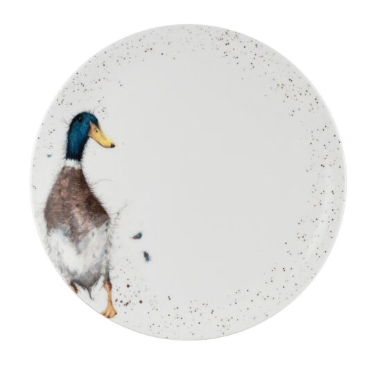 Duck 10.5 Inch Coupe Plate from Royal Worcester