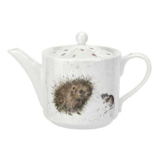 Hedgehog and Mice Tea Pot from Royal Worcester