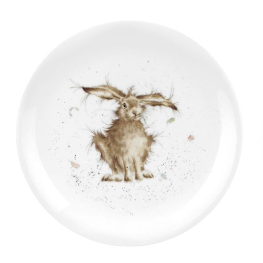 Hare 8 Inch Coupe Plate from Royal Worcester