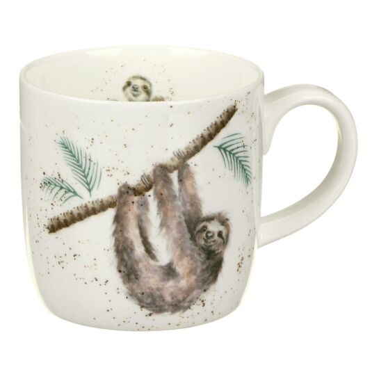 Sloth Mug from Royal Worcester
