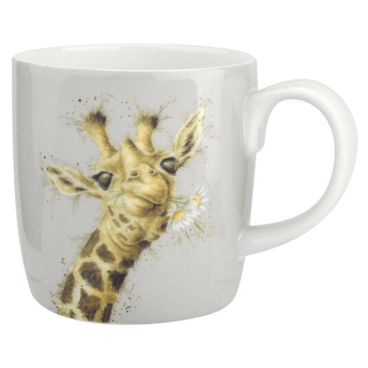 Flowers Giraffe Mug From Royal Worcester