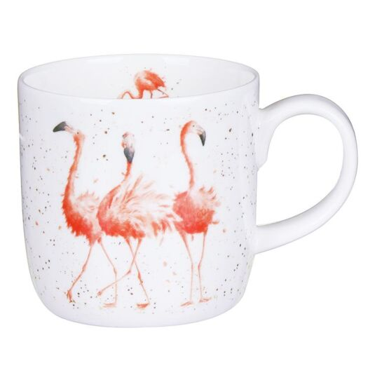 Pink Ladies Flamingo Mug From Royal Worcester