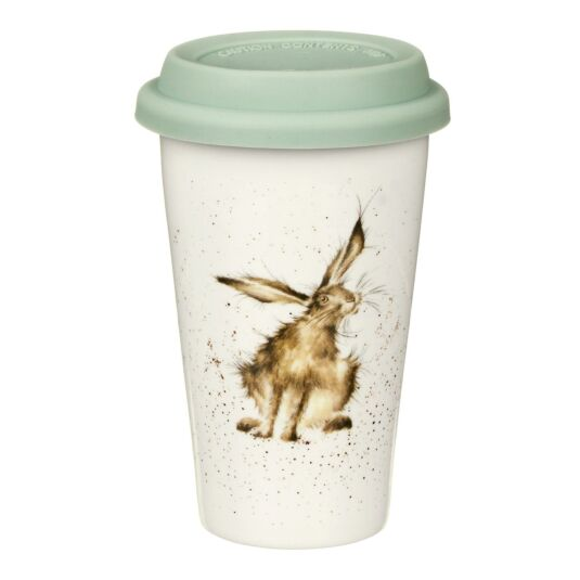 Hare Porcelain Travel Mug from Royal Worcester
