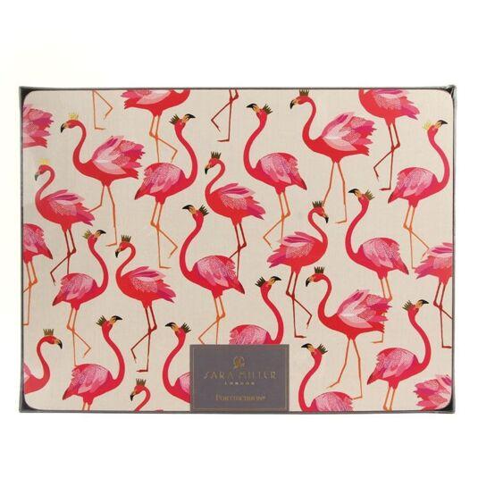 Set of 4 Flamingo Placemats
