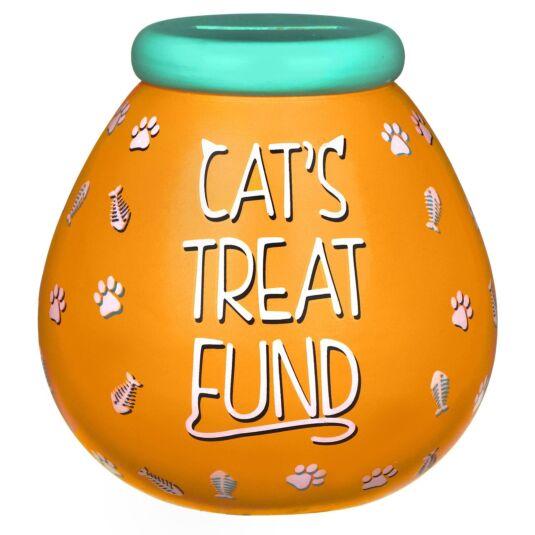 Cat Treat Fund Money Pot