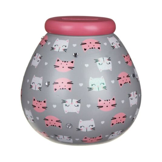 Cat Money Pot