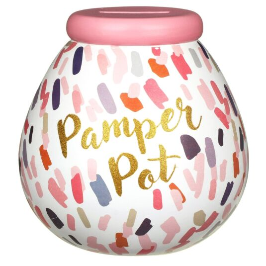 Pamper Pot – Lipstick Smudge Money Pot